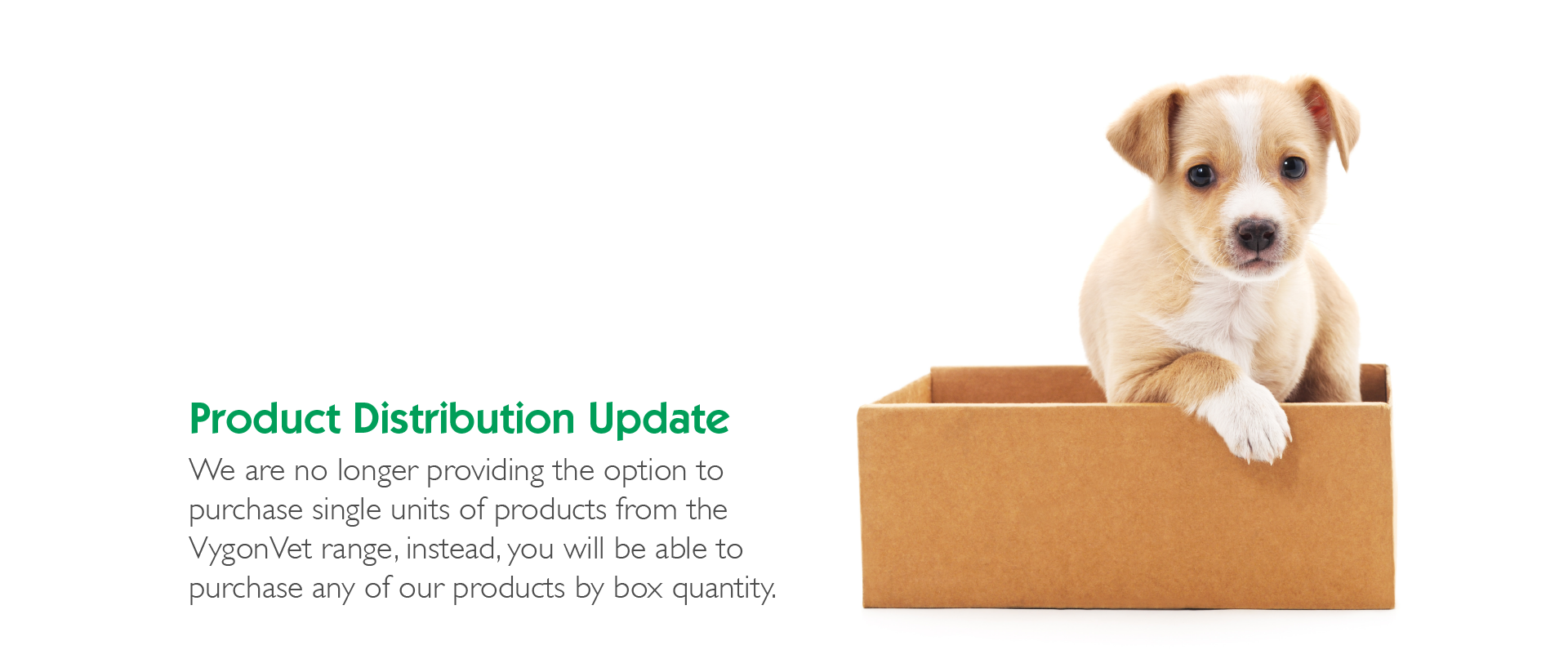 Product Distribution Update